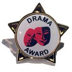DRAMA AWARD - STAR Lapel Badge