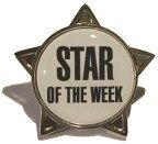 STAR OF THE WEEK - STAR Lapel Badge