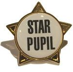 STAR PUPIL - STAR Lapel Badge